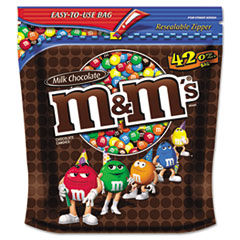 M & M's Milk Chocolate w/Candy Coating, 42oz Pack