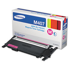 Samsung CLTM407S (CLT-M407S) Toner, 1,000 Page-Yield, Magenta