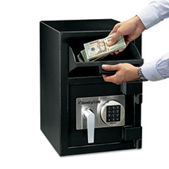 Sentry Safe Digital Depository Safe, Large, 0.94 ft3, 14w x 15 3/5d x 20h, Black