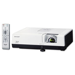 Sharp XR-50S Multimedia Projector, 2700 Lumens, 800 x 600 pixels, 1.2x Zoom