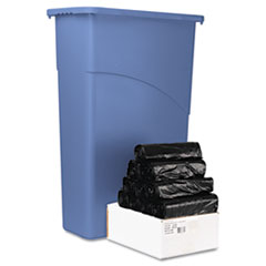 Boardwalk Low-Density Can Liners, 33 x 39, .43 mil, Black, 250/Carton