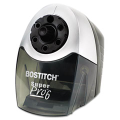 Stanley Bostitch SuperPro 6 Xtreme Duty Pencil Sharpener, Gray