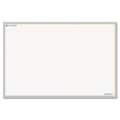 AT-A-GLANCE WallMates Self-Adhesive Dry Erase Writing Surface, White/Gray, 36