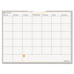 AT-A-GLANCE WallMates Self-Adhesive Dry Erase Monthly Planning Surface, White, 24