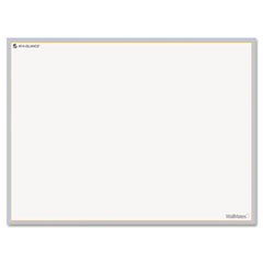 AT-A-GLANCE WallMates Self-Adhesive Dry Erase Writing Surface, White/Gray, 24