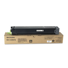 Sharp MXC40NT1 Toner, 10,000 Page-Yield, Black