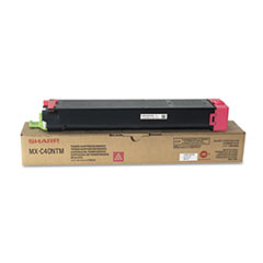 Sharp MXC40NTM Toner, 10,000 Page-Yield, Magenta