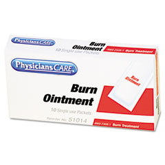 PhysiciansCare Burn Cream Packets, Box of 10