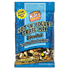 Kar's Nut and Yogurt Trail Mix, 2oz Bag, 16/Box