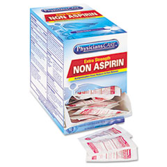 PhysiciansCare Non Aspirin Acetaminophen Medication, 50 Doses
