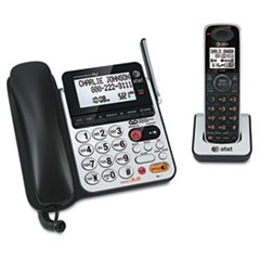 CL84100 Corded/Cordless DECT 6.0 Phone System with Answering Machine