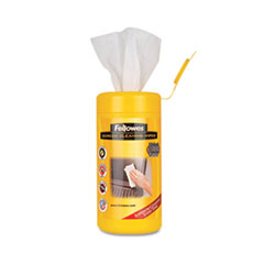 "Screen Cleaning Wet Wipes, 5.12"" x 5.90"", 100/Tub"