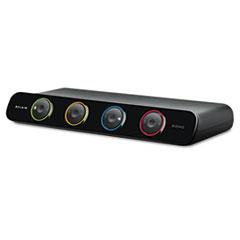 Belkin SOHO Desktop KVM Switch With Cables, 4-Port, PS/2, USB