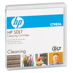 HP Super DLT Cleaning Cartridge, 20 Uses