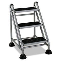CSC 11834GGB1 Cosco® Rolling Commercial Step Stool CSC11834GGB1