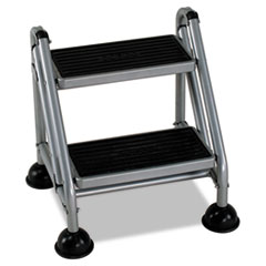 CSC 11824GGB1 Cosco® Rolling Commercial Step Stool CSC11824GGB1