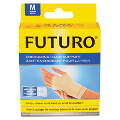 Futuro Energizing Support Glove, Medium, Palm Size 7 1/2
