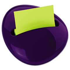 Post-it Pop-up Notes Pebble Notes Dispenser for 3 x 3 Pads, Purple