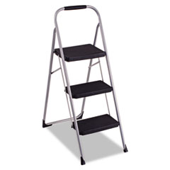 CSC 11408PBL1E Cosco® Three-Step Big Step Folding Step Stool CSC11408PBL1E