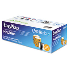 EasyNap One-Ply Dispenser Napkins, 6 1/2 x 9 17/20, White, 2500/Carton