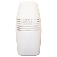 TimeMist Locking Fan Fragrance Dispenser, 3w x 4-1/2d x 3-5/8h, White
