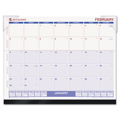 AT-A-GLANCE LookForward Recycled Desk Pad, 22