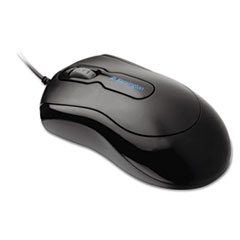 Kensington Mouse-In-A-Box Optical Mouse, Two-Button/Scroll, Black