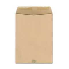 Ampad 100% Recycled Paper Catalog Envelope, Side Seam, 9 x 12, Kraft, 110/Box