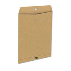 Ampad Earthwise 100% Recycled Paper Envelope, Side Seam, 10x13, Natural Brown, 110/Box