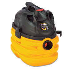 Shop-Vac Heavy-Duty Portable Wet/Dry Vacuum, 5gal Capacity, 17lb, Black/Yellow