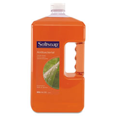 Softsoap Antibacterial Moisturizing Soap, Liquid, 1 gal Refill Bottle, 4/Carton