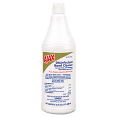 Ajax EPA Registered Disinfectant Bowl Cleaner, 32 oz. Bottle, 12/Carton