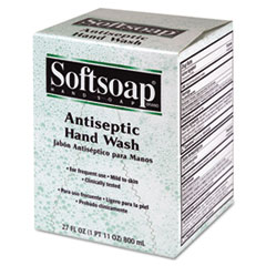 Softsoap Antiseptic Unscented Liquid Refill, 800ml Box