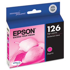 Epson T126320 (126) DURABrite Ultra High-Yield Ink, Magenta