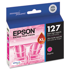 Epson T127320 (127) DURABrite Ultra Extra High-Yield Ink, Magenta