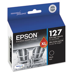 Epson T127120 (127) DURABrite Ultra Extra High-Yield Ink, Black