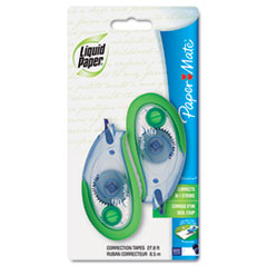 "WideLine Correction Tape, Non-Refillable, 1/4"" x 335"", 2/Pack"