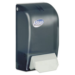 Dial Professional Foaming Hand Soap Dispenser, 1000mL, 5 x 4 1/2 x 9, Smoke