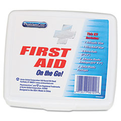 PhysiciansCare First Aid On the Go Kit, Mini, 13 Pieces/Kit