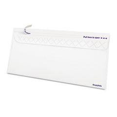 Ampad Gold Fibre SimplySafe Business Envelope, Self-Adhesive, White, 500/Box
