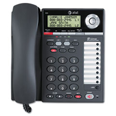 AT&T 993 Two-Line Corded Speakerphone with Caller ID