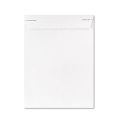 Ampad Gold Fibre Fastrip Catalog Envelope, Side Seam, 9 x 12, White, 100/Box