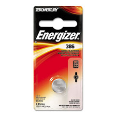 Energizer Watch/Electronic Battery, SilvOx, 386, 1.5V, MercFree
