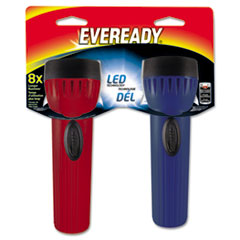 Energizer Eveready LED Economy Bright Light, Assorted, 2 D, 2/PK