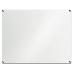 The Board Dudes Glass Dry Erase Board, 48 x 36, Unframed