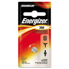 Energizer 392BPZ Watch/Electronic Battery, SilvOx, 392, 1.5V, MercFree EVE392BPZ EVE 392BPZ