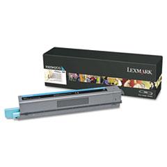 Lexmark X925H2CG High-Yield Toner, 7,500 Page-Yield, Cyan