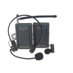 AmpliVox Wireless Lapel and Headset Microphone Kit