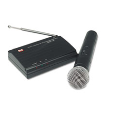 AmpliVox Wireless Handheld Microphone Kit, 300 ft. Radius