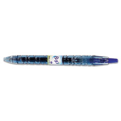Pilot B2P Bottle-2-Pen Recycled Retractable Gel Ink Pen, Blue Ink, .7mm, 2/Pack
